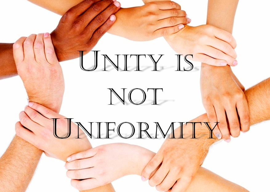Unity is not Uniformity Graphic